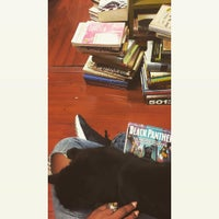 Photo taken at Recycle Bookstore by Fawziah Q. on 1/12/2017