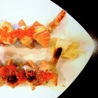 Photo taken at Satsuma Sushi by Melissa H. on 5/1/2013