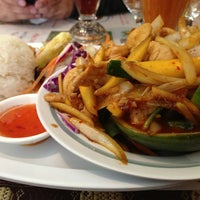 Photo taken at Siam Taste Thai Cuisine by Melissa H. on 2/18/2013