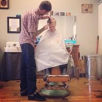 Photo taken at Foremost Barbershop by Jennifer B. on 4/3/2014