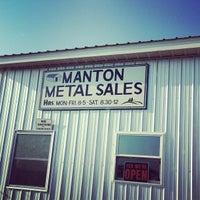 Photo taken at Manton Metal Sales by Jennifer B. on 7/15/2013