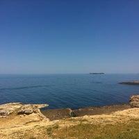 Photo taken at Pembe Kayalar by Arda A. on 5/26/2013