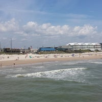 Photo taken at Surf City Beach by Donna G. on 5/17/2014
