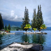 Photo taken at Danau Toba by Tony W. on 12/29/2012