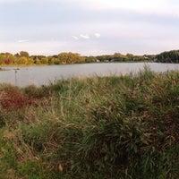Photo taken at Stricker's Pond Park by Toni K. on 9/9/2014