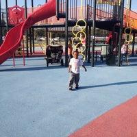 Photo taken at Kid's Cove at Mount Trashmore Park by LaTara B. on 10/25/2012