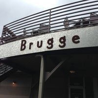 Photo taken at Brugge Brasserie by Charlie K. on 5/23/2013