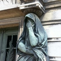 Photo taken at Père Lachaise Cemetery by Davi J. on 7/17/2013