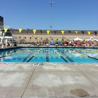 Photo taken at tvhs pool deck by Ashley H. on 4/25/2013