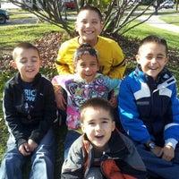 Photo taken at Moran Park by Veronica B. on 10/27/2012