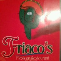Photo taken at Friaco's Mexican Restaurant & Cantina by Alissa H. on 3/3/2013
