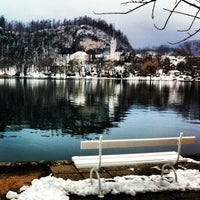 Photo taken at Bled by Julia T. on 3/27/2013