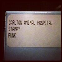 Photo taken at Carlton Animal Hospital by Jeremy F. on 12/7/2012