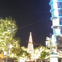 Photo taken at The Grove Christmas Tree by Jeremy O. on 12/13/2013