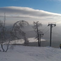 Photo taken at ГЛЦ Гора Вишнёвая by Ivan F. on 1/12/2013