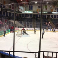 Photo taken at Amarillo Civic Center Ice Rink by Dallas H. on 10/27/2012