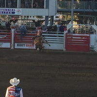 Photo taken at Clovis Rodeo Grounds by J B. on 4/22/2016