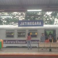 Photo taken at Stasiun Jatinegara by Mohanash F. on 5/26/2013