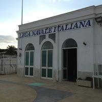 Photo taken at Lega Navale Manfredonia by Antonio on 5/23/2013