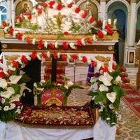 Photo taken at Panayias Maganas Church by Sofia T. on 4/18/2014