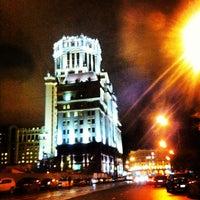 Photo taken at 1-й Люсиновский by Belokosha🍓 on 10/11/2012