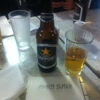 Photo taken at Amici Sushi by Javier R. on 1/27/2013
