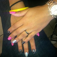 Photo taken at Nancy's Nails by Taylor S. on 11/17/2012