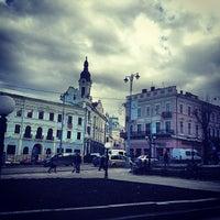 Снимок сделан в Центральная площадь пользователем Ruslan C. 3/20/2013