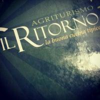 Photo taken at Agriturismo Il Ritorno by Giuseppe M. on 4/12/2014