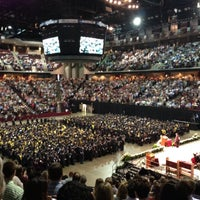 Photo taken at Reed Arena by Nathan on 5/11/2013