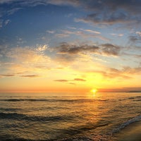 Photo taken at Lido Beach Spiaggia Libera Lido Di Camaiore by Aleksandr N. on 9/3/2014