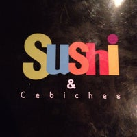 Photo taken at Sushi & Cebiches by Denis F. on 11/3/2013
