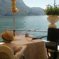 Photo taken at Hotel Lido Seegarten Lugano by Moderned on 7/18/2016