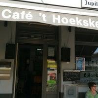 Photo taken at Café 't Hoeksken by Alexander D. on 6/2/2017
