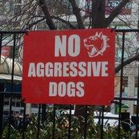 Photo taken at Union Square Dog Run by Dani M. on 1/19/2013
