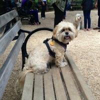 Photo taken at Union Square Dog Run by Dani M. on 5/27/2013