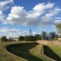 Photo taken at Governors Island by Josh C. on 10/8/2014
