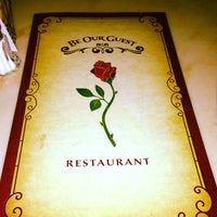 Photo taken at Be Our Guest Restaurant by Dimarco @. on 12/24/2012
