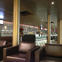 Photo taken at SWISS Business Lounge A by Steve A. on 12/20/2012