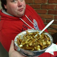 Photo taken at 3 Brothers Shawarma And Poutine by Batman on 8/9/2013
