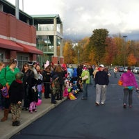 Photo taken at Eastwood Field by Anitra L. on 10/23/2013
