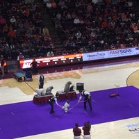 Photo taken at Cassell Coliseum by Robin M. on 2/22/2018