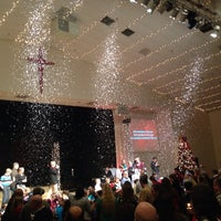 Photo taken at Richland Creek Community Church by Michael S. on 12/24/2013