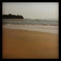 Photo taken at Ashwem Beach by Это Я. on 1/30/2013