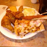Photo taken at Pizza Ranch by Frostcat on 2/16/2013