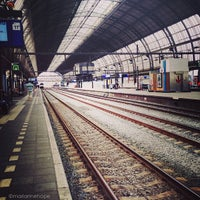 Photo taken at Amsterdam Central Railway Station by marianne h. on 5/27/2013