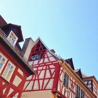 Photo taken at Hutplatz Weinheim by marianne h. on 7/22/2013