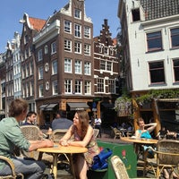 Photo taken at Café Van Zuylen by Marina D. on 6/6/2013