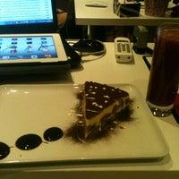 Photo taken at Mood Cafe by Biriz Ç. on 3/2/2013
