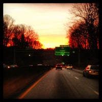 Photo taken at Schuylkill Expressway by David W. on 12/20/2012